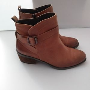 Vince Camuto Beamer Burnished Toe Ankle Boot